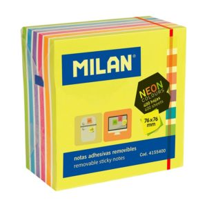 CUBE 400 NOTES ADHESIVES 76X76 FLUO