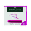 Boite cartouches encre rose Faber-Castell