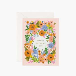 CARTE FLORAL MOTHER'S DAY